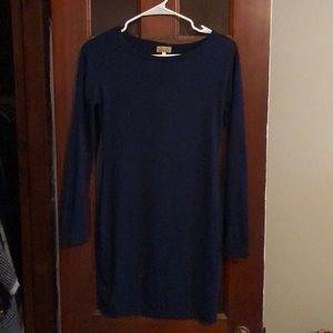 Navy blue Piko dress